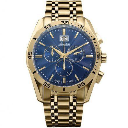 Zegarek Męski Adriatica A8202.1115CH - Chronograf Swiss Made
