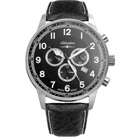 Zegarek Męski Adriatica A1076.5224CHXL - Chronograf Swiss Made