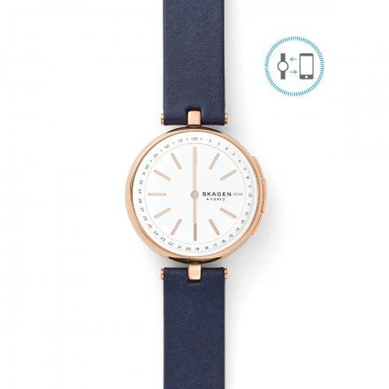 Smartwatch Skagen SKT1412 - Zegarek Skagen Signatur T-Bar Connected