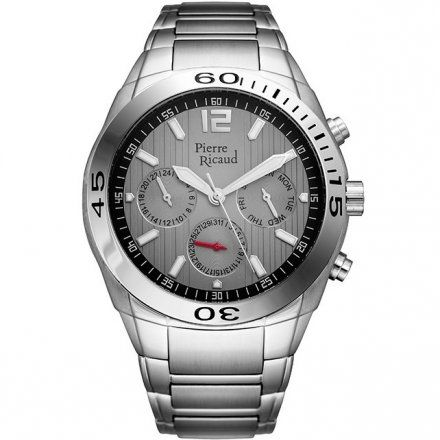 Pierre Ricaud P97018.5157QF Zegarek - Niemiecka Jakość