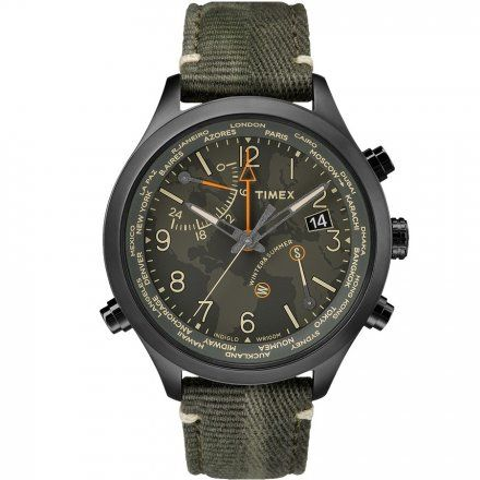 TW2R43200 Zegarek Męski Timex Waterbury World Time TW2R43200