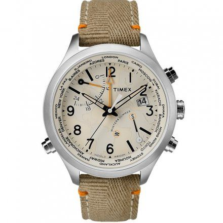 TW2R43300 Zegarek Męski Timex Waterbury World Time TW2R43300