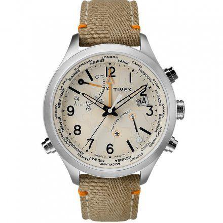 TW2R43300 Zegarek Męski Timex Waterbury World Time TW2R43300