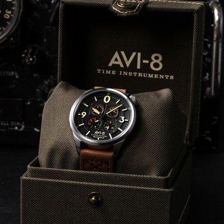AV-4050-01 Zegarek Męski AVI-8 Lancaster Bomber