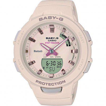 Zegarek Casio BSA-B100-4A1ER Baby-G BSA B100 4A1