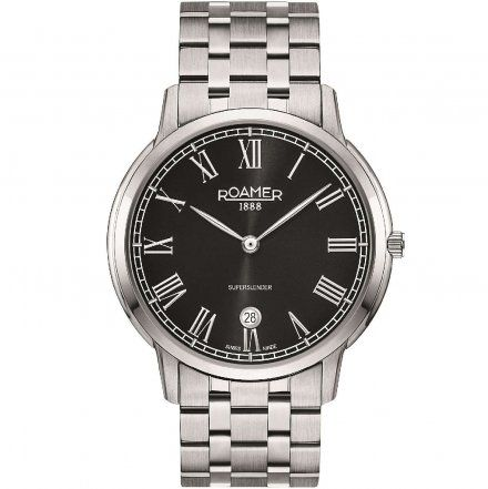 Roamer 515810 41 52 50 Zegarek Szwajcarski Superslender