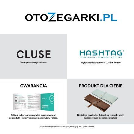 Zegarki Cluse La Tetragone CL60009 - CW0101207010