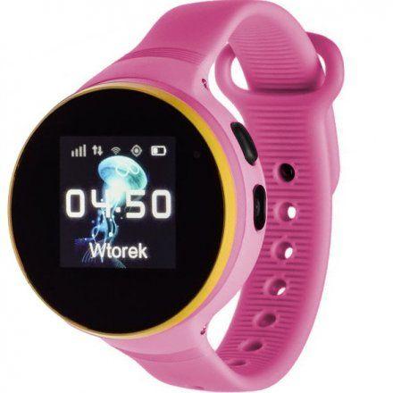 Smartwatch Lokalizator Garett Kids Smile Różowy