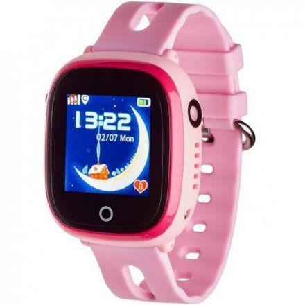 Smartwatch Lokalizator Garett Kids Happy Różowy
