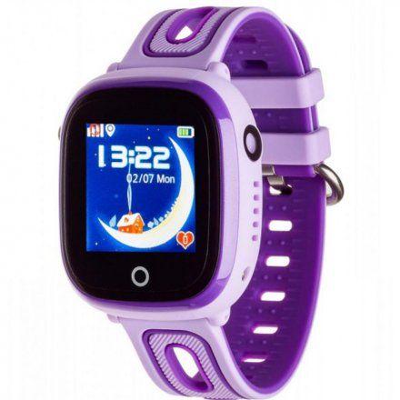 Smartwatch Lokalizator Garett Kids Happy Fioletowy