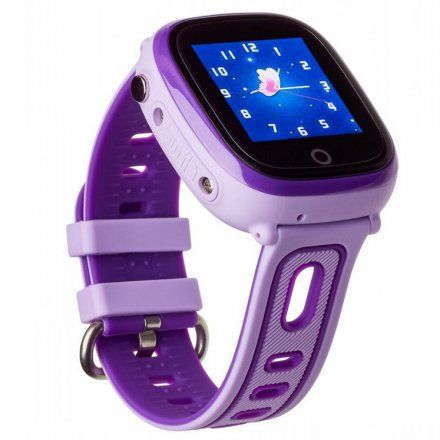 Smartwatch Lokalizator Garett Kids Happy Fioletowy