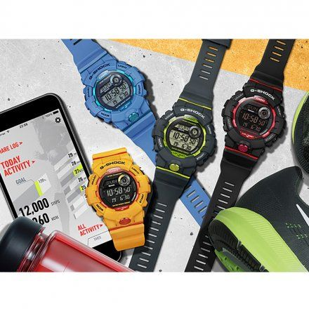 Zegarek Casio GBD-800-7ER G-Shock G-SQUAD GBD 800 7