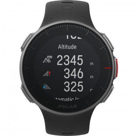 Polar VANTAGE V Czarny zegarek z pulsometrem i GPS
