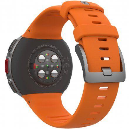 Polar VANTAGE V Pomarańczowy zegarek z pulsometrem i GPS