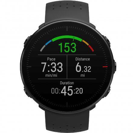 Polar VANTAGE M Czarny zegarek z pulsometrem i GPS
