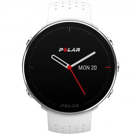 Polar VANTAGE M Biały M/L zegarek z pulsometrem i GPS