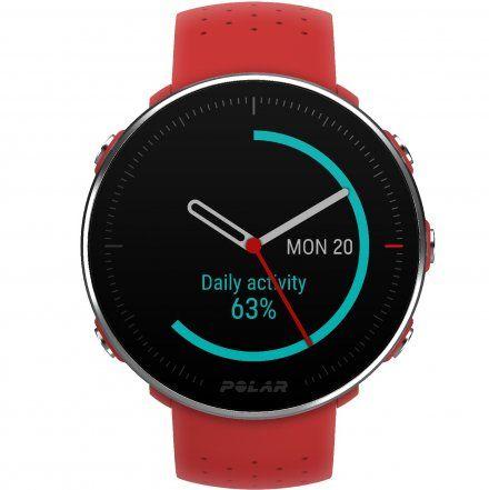 Polar VANTAGE M Czerwony zegarek z pulsometrem i GPS
