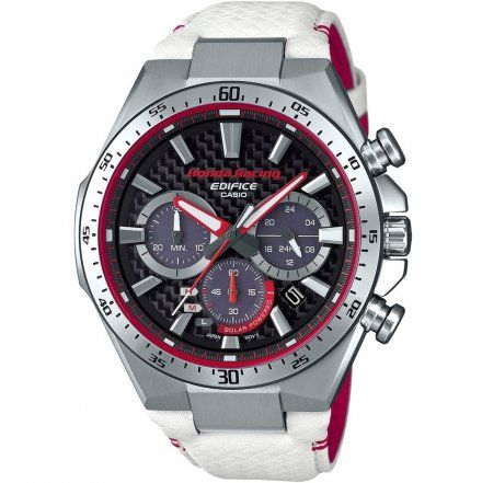 Zegarek Męski Casio EQS-800HR-1AER Edifice EQS 800HR 1A Honda Racing