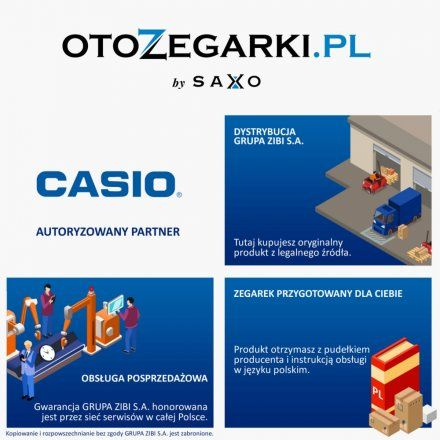 Zegarek Casio LX-610-1A2VEF Casio Sport LX 610 1A2