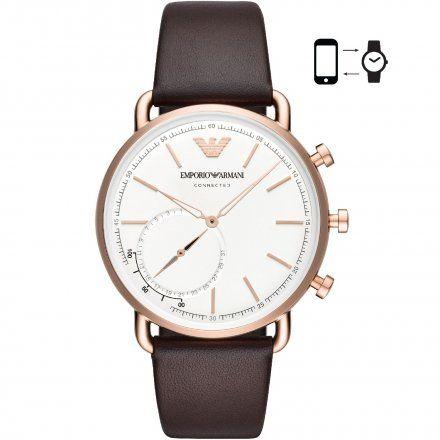 Emporio Armani Connected ART3029 Hybrydowy Zegarek SmARTwatch Ea