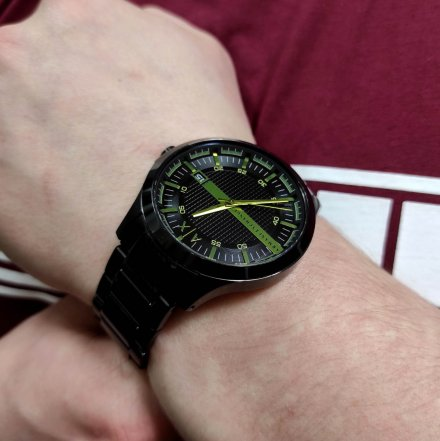 AX2407 Armani Exchange HAMPTON zegarek AX z bransoletą