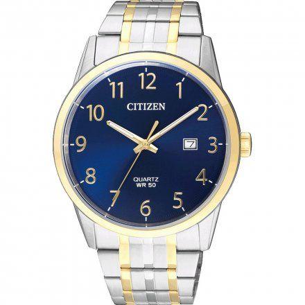 Citizen BI5004-51L Zegarek Męski na bransolecie Citizen Classic