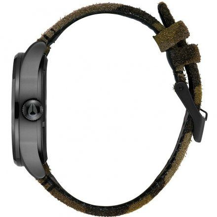 Zegarek Nixon Sentry 42 Leather BLACK/CAMO/VOLT Nixon A1053054