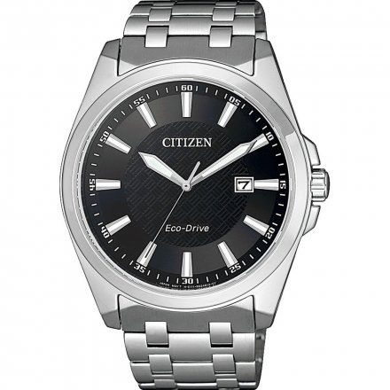 Citizen BM7108-81E Zegarek Męski na bransolecie Eco Drive Elegance
