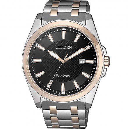 Citizen BM7109-89E Zegarek Męski na bransolecie Eco Drive Elegance