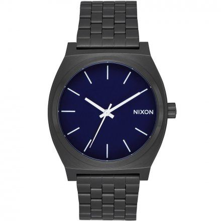 Zegarek Nixon Time Teller ALL BLACK/DARK BLUE Nixon A0452668
