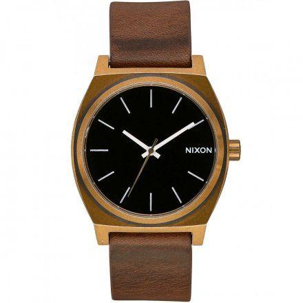 Zegarek Nixon Time Teller BRASS/BLACK/BROW'N - Nixon A0453053
