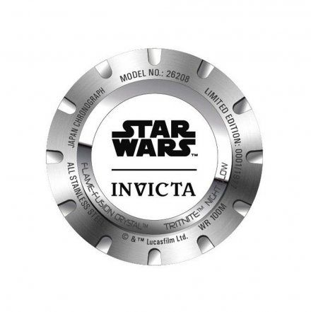 Invicta IN26208 Zegarek męski Invicta Star Wars 26208