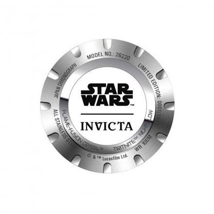 Invicta IN26220 Zegarek męski Invicta Star Wars 26220