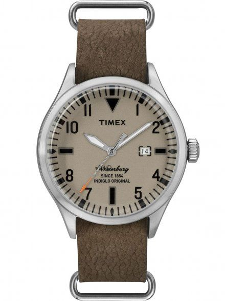 PW2P64600 Pasek Timex Skórzany 20 Mm Do Zegarka TW2P64600