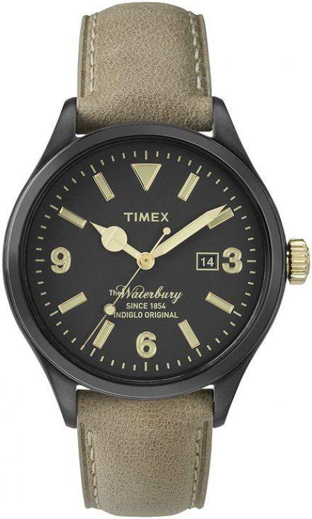 PW2P74900 Pasek Timex Skórzany 20 Mm Do Zegarka TW2P74900
