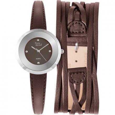 Pierre Ricaud P22016.524GQ Zegarek + Pasek - ZESTAW - Niemiecka Jakość