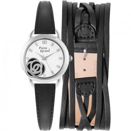 Pierre Ricaud P22017.5213Q Zegarek + Pasek - ZESTAW - Niemiecka Jakość