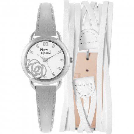 Pierre Ricaud P22017.5G13Q Zegarek + Pasek - ZESTAW - Niemiecka Jakość
