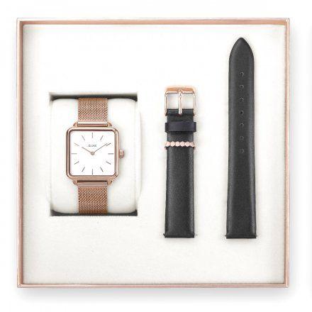 Zegarki Cluse La Garconne CLG014 Zestaw na prezent - Modne zegarki Cluse