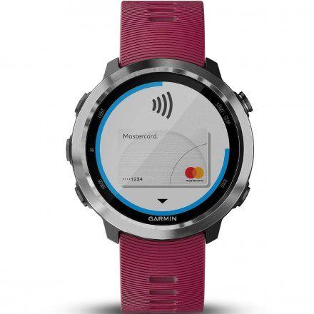 GARMIN Forerunner 645 Music Wiśniowy zegarek do biegania 010-01863-31
