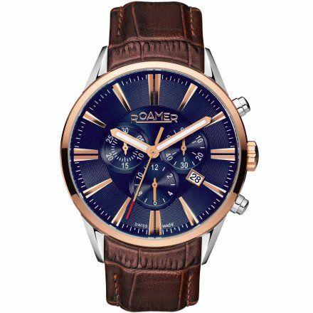 Roamer 508837 41 85 05 Zegarek Szwajcarski Chrono Superior