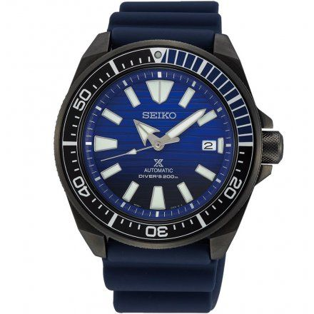 Seiko SRPD09K1 Zegarek Męski Prospex Automatic Save The Ocean Black Series