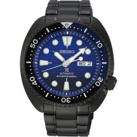 Seiko SRPD11K1 Zegarek Męski Seiko Prospex Save The Ocean The Black Series