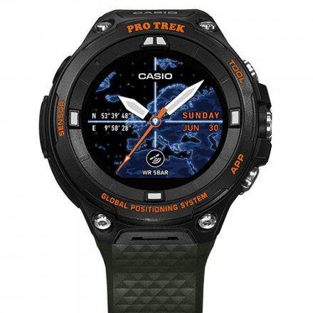 Zegarek Casio WSD-F20A-GNBAE Pro Trek Smart WSD F20A GN