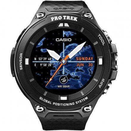 Zegarek Casio WSD-F20-BKAE Pro Trek Smart WSD F20 BK