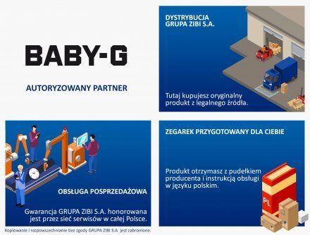 Zegarek Casio BSA-B100MF-7AER Baby-G BSA B100MF 7A
