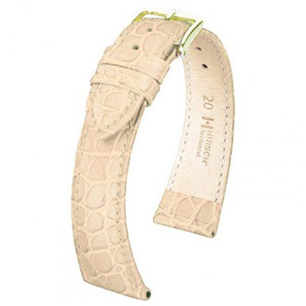 Beżowy pasek skórzany 20 mm HIRSCH Aristocrat 03828090-1-20 (L)