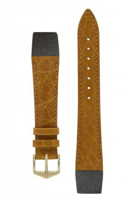 Pasek Skórzany HIRSCH Camelgrain 10200910-1 14mm OE do zegarków bez teleskopu Open End