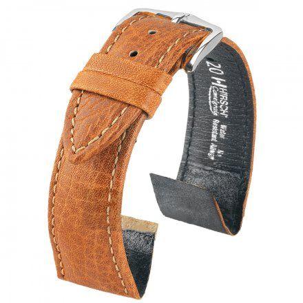 Pasek Skórzany HIRSCH Camelgrain 10200910-2 18mm OE do zegarków bez teleskopu Open End