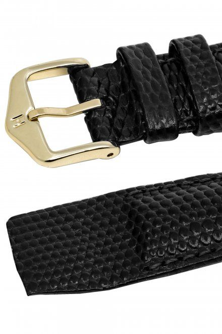 Pasek Skórzany HIRSCH Lizard 10106650-1 16mm OE do zegarków bez teleskopu Open End